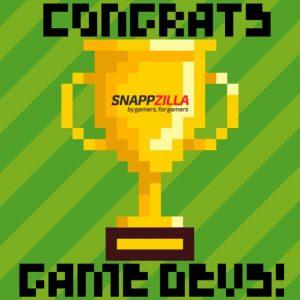 Congrats game devs trophy