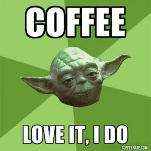 Yoda Coffee Meme