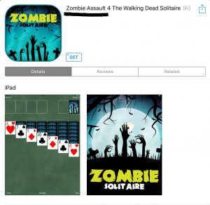 AOTC Zombie Solitaire