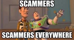 AOTC Scammers meme