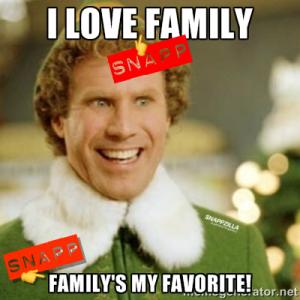ELF I Love SNAPP Family
