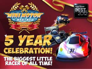 Mini Motor Racing screenshot 1