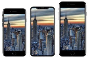 iPhone 8/x lineup