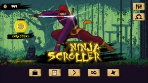 Ninja Scroller screenshot 1