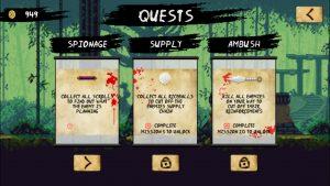 Ninja Scroller screenshot 4