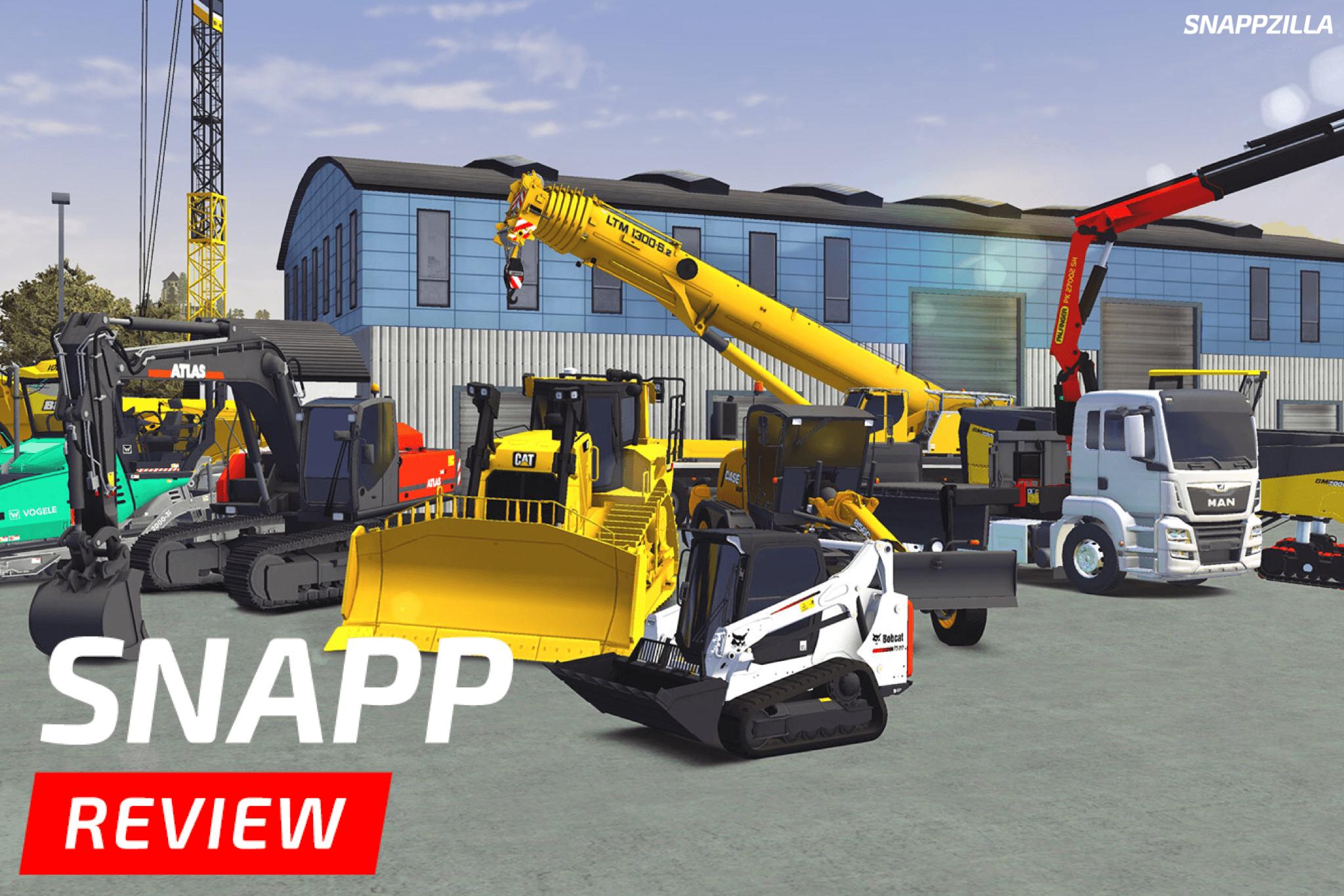 Construction Simulator 3 (SNAPP Review) - snappzilla